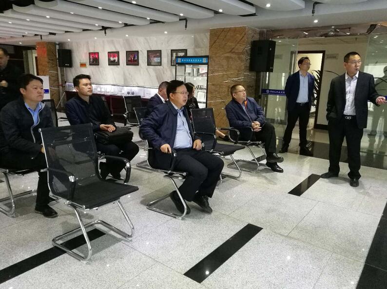 攀枝花市东区区委书记罗军来交易中心调研
